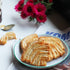 puff pastry plated