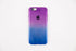 purple blue gradient iphone case