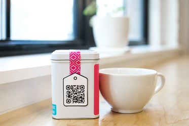 Picture of QR Code On Tea — Free Stock Photo