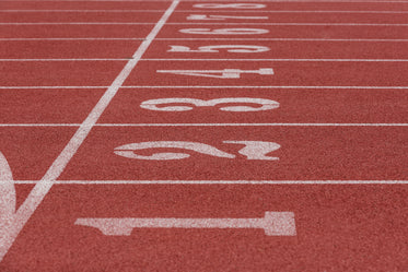 racing track and field numbers