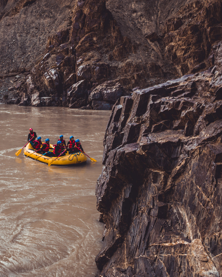 Rafting The River