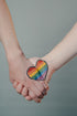 rainbow hands heart