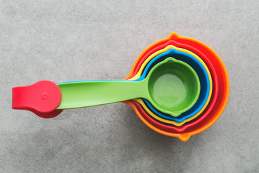 Free Rainbow Measuring Cups Image: Browse 1000s of Pics