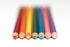 rainbow of pencils