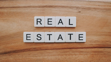 real estate in letters