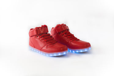 Picture of Red LED Shoes - Free Stock Photo