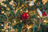 Free Red Ball Ornament On Tree Image: Stunning Photography