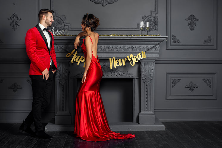 Red formal New Years Fashion