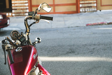 High Res Red Motorcycle Picture — Free Images