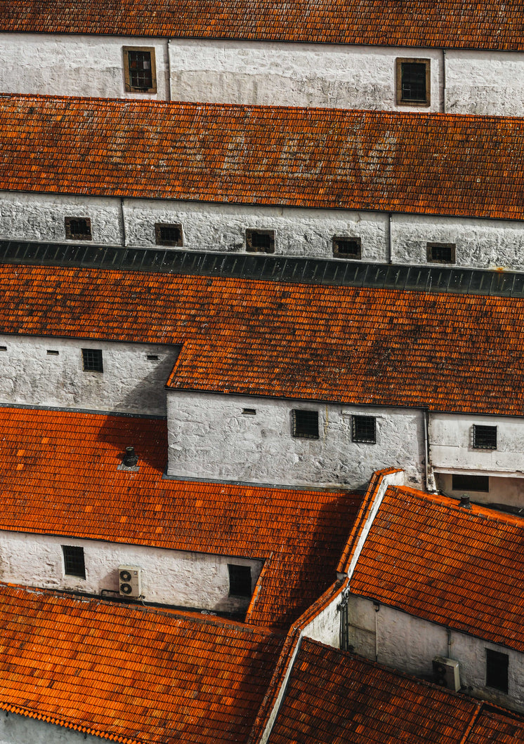 Red Roofs And White Walls
