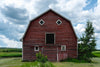 red wooden barn