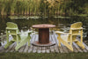 relaxing lake side chairs