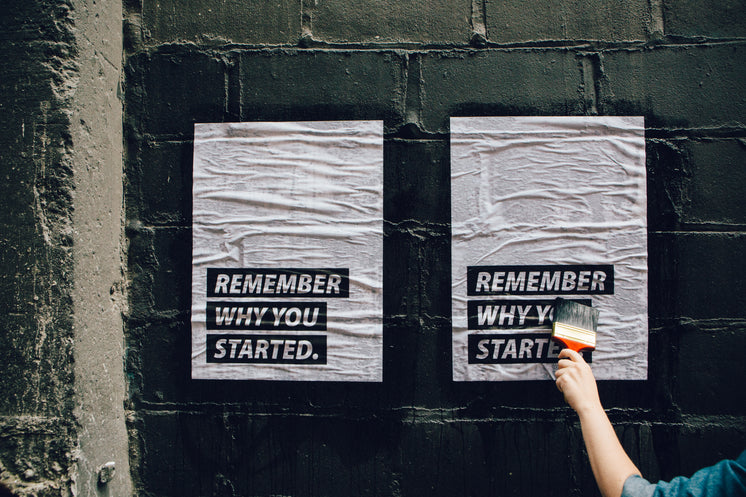 Remember Why You Started Poster