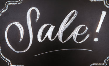 sale sign for stores