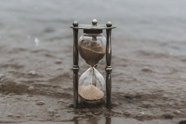 sands of time in water