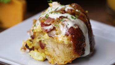 Picture of Savory Breakfast Roll - Free Stock Photo