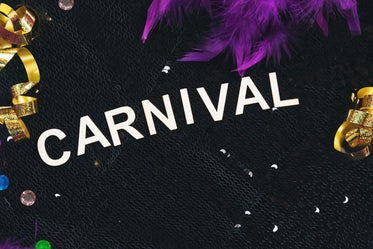 sequins and carnival