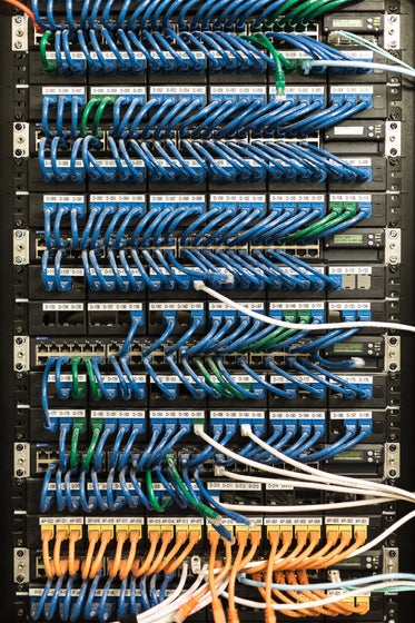 server room cables