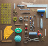 sewing tools knolling