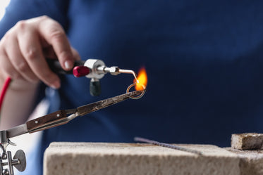 shaping a ring with fire