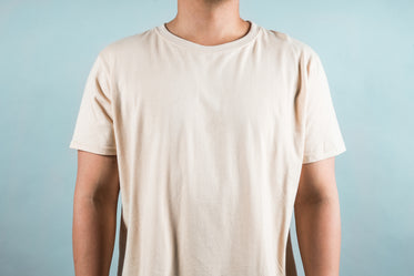simple beige mens shirt