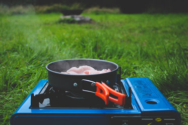 sizzling and camping