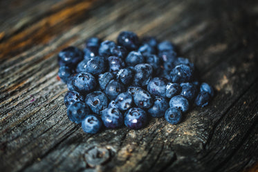 small pile of fresh blueberries
