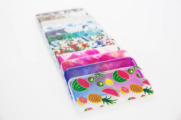 smart phone cases stack