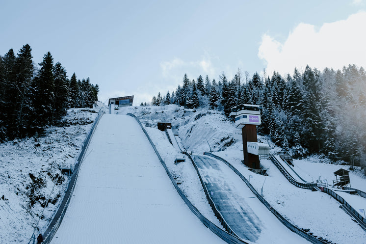Snow-covered Ski Slope