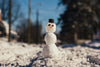 snowman on a winter afternoon