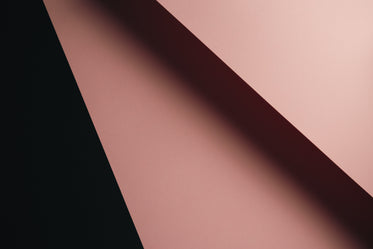 soft pink and black geometric abstract shapes