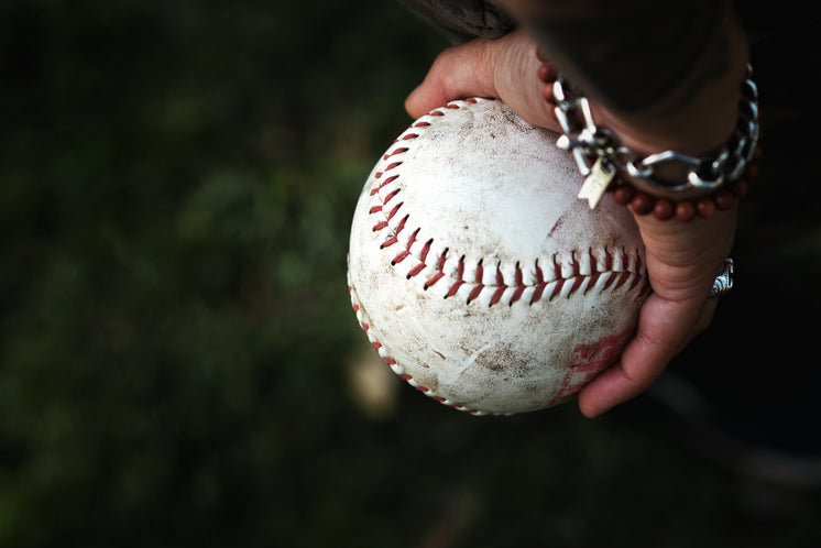 Softball In The Palm Of Your Hand