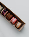 some beautifully packaged macarons
