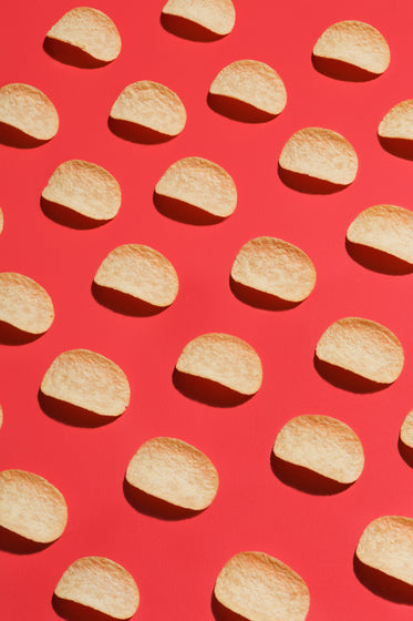 stackable chips in lines