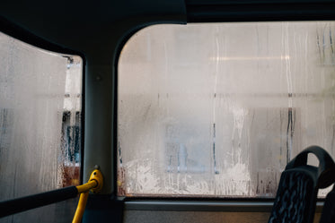 steamed up bus windows