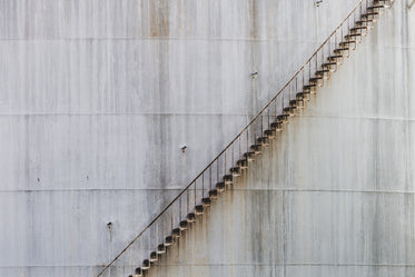 steep stairs on tower