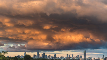 Free Storm Clouds At Sunset Photo — High Res Pictures