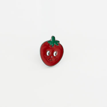 Picture of Strawberry Soft Enamel Lapel Pin - Free Stock Photo
