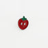 strawberry soft enamel lapel pin