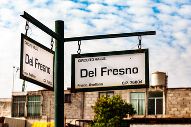street signs in mexico