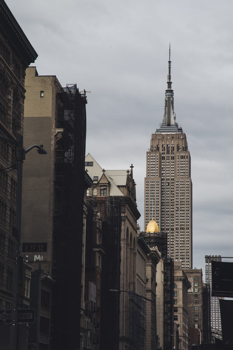 Street View Of Empire State Building