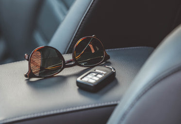 sunglasses car keys