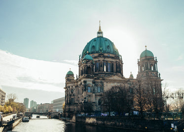 sunlit berlin cathedral