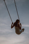 swinging in the summer