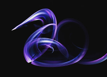 swirling purple light streaks