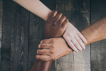 Free Stock Photo of Team Hands Linked Together — HD Images