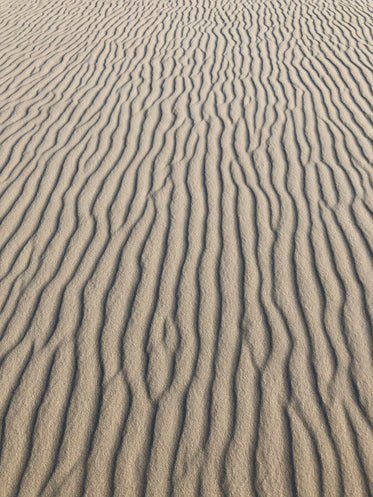 textured channels in dry sand