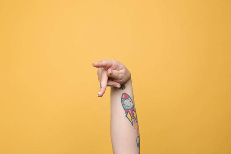 """The Letter """"P"""" Displayed In American Sign Language"""