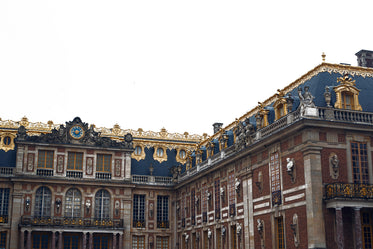 the marble court in the palace of versailles