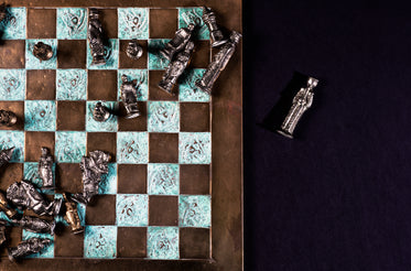 the queen is captured, the chess game is over
